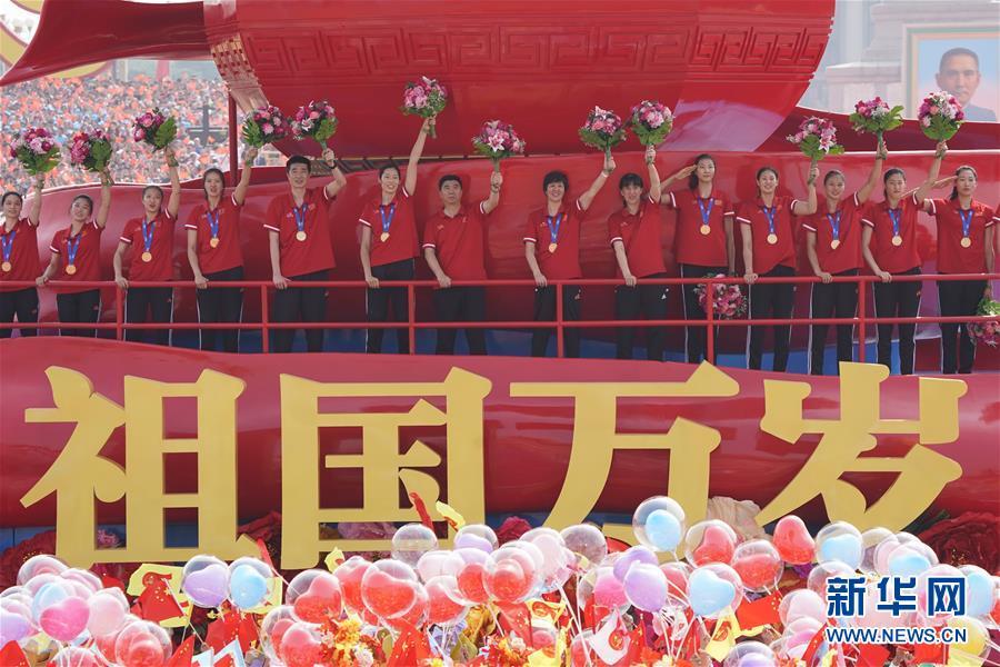 2019中国十佳运动员 中国女排领衔